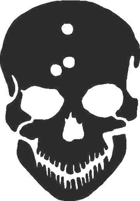 Skull Decal / Sticker 02