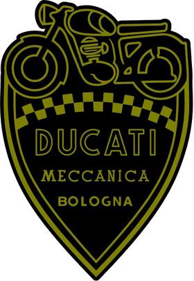Ducati Shield Decal / Sticker 45