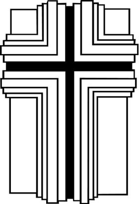 Christian Cross Decal / Sticker 34