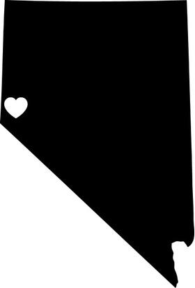 Nevada Custom City Decal / Sticker 03