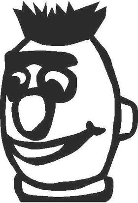 Bert Decal / Sticker