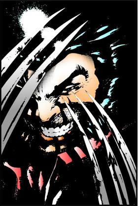 X-men Wolverine Decal / Sticker 02