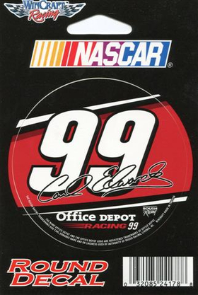 99 Carl Edwards Decal / Sticker