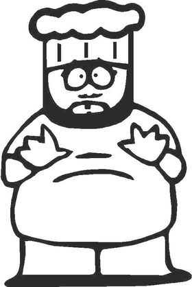 Chef Decal / Sticker