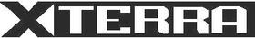 Nissan Xterra Decal / Sticker 02
