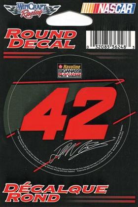 42 Juan Pablo Montoya Decal / Sticker