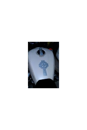 Celtic Cross Decal / Sticker 01
