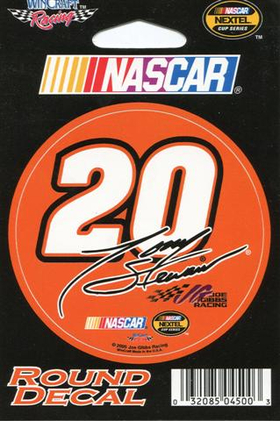20 Tony Stewart Decal / Sticker