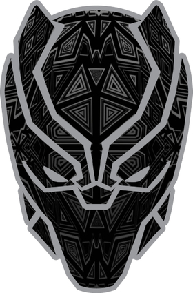 Black Panther Decal / Sticker 02