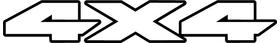 Z 4x4 Decal / Sticker 35