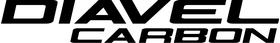 Ducati Diavel Carbon Decal / Sticker 02