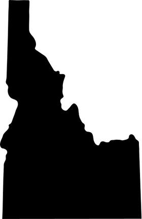 Idaho Decal / Sticker 01