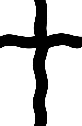 Christian Cross Decal / Sticker 53