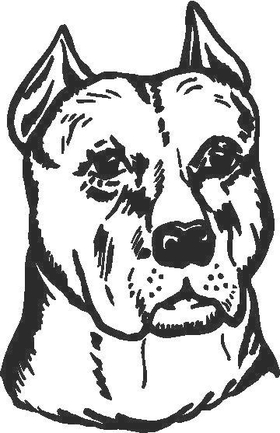 Dog Decal / Sticker 07