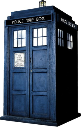 Doctor Who Tardis Decal / Sticker