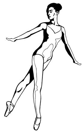 Ballet Decal / Sticker