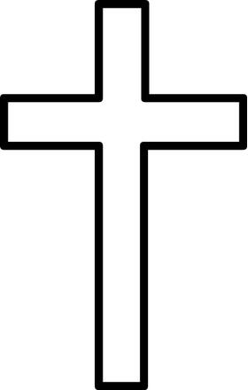 Christian Cross Decal / Sticker 15