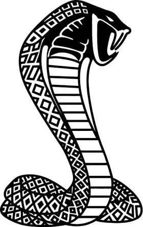Cobra Decal / Sticker 10