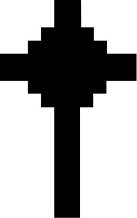 Christian Cross Decal / Sticker 11