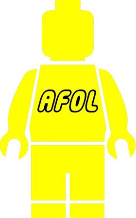 AFOL Lego Man Decal / Sticker 07