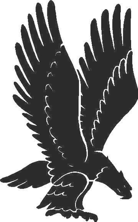 Eagle Decal / Sticker 02