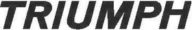 Triumph Decal / Sticker 02