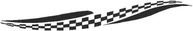 Checkered Flag Decal / Sticker 52