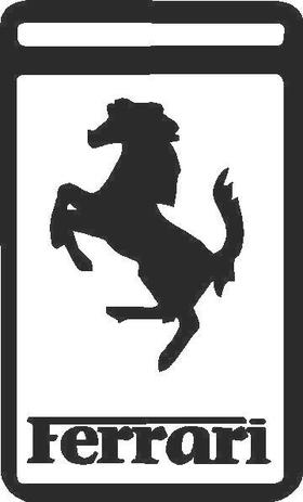 Ferrari Decal / Sticker 01