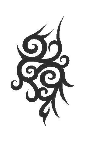 Tribal Decal / Sticker 54