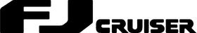 Toyota FJ Cruiser Decal / Sticker 02