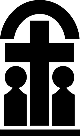 Christian Cross Decal / Sticker 79