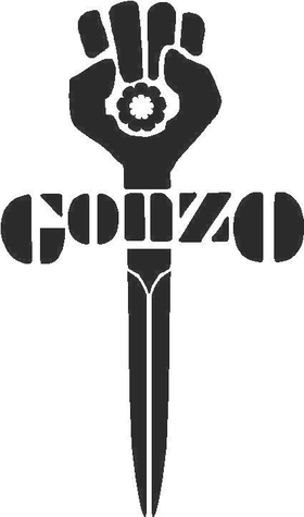 Gonzo Decal / Sticker