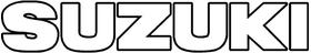 Suzuki Lettering Decal / Sticker 06