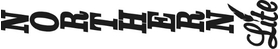 Vertical Northern Lite Camper Decal / Sticker 03