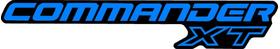 Blue Commander XT Decal / Sticker 05