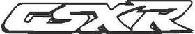 GSXR Suzuki Decal / Sticker 02