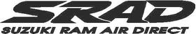 Suzuki SRAD Decal / Sticker 01