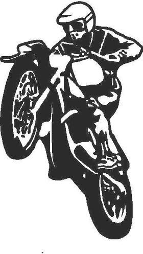 Dirtbike Decal / Sticker 02