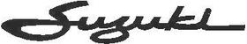 Suzuki Lettering Decal / Sticker 07