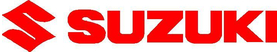 Suzuki logo/lettering decal / Sticker