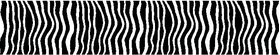 Zebra Stripe Decal / Sticker 03