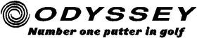 Odyssey Golf Decal / Sticker