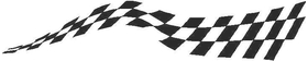 Checkered Flag Decal / Sticker 12
