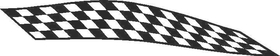 Checkered Flag Decal / Sticker 59