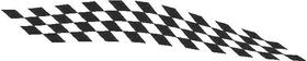 Checkered Flag Decal / Sticker 60