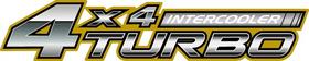 Z 4x4 Intercooled Turbo Decal / Sticker