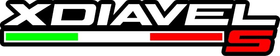 Ducati Xdiavel S Decal / Sticker 03