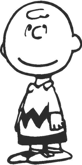 Charlie Brown Decal / Sticker 01