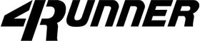 Toyota 4runner Decal / Sticker 02