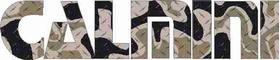 Camouflage Calmini Decal / Sticker 02